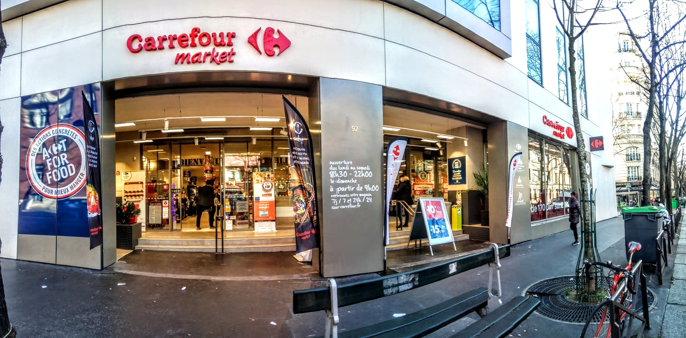 Carrefour Market Paris Gambetta